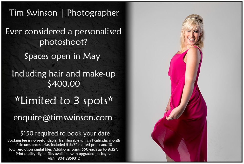 Toowoomba portrait photographer May offer