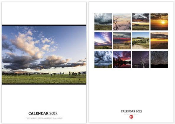 Landscape calendar 2013