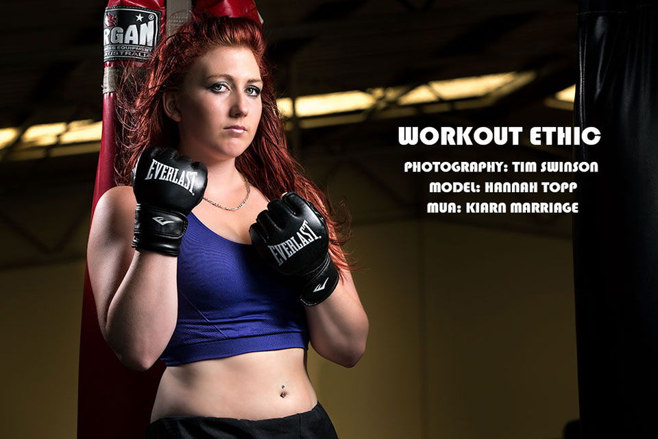 Toowoomba portrait photographer fitness photoshoot