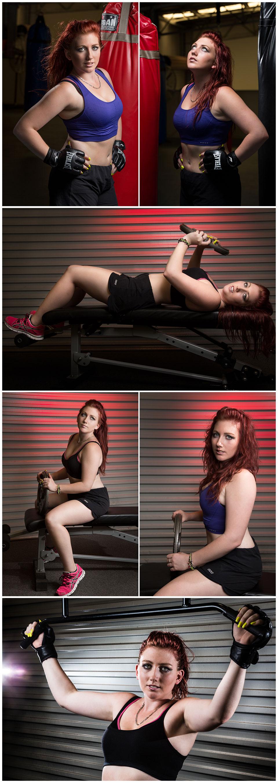 Toowoomba portrait photographer fitness photoshoot